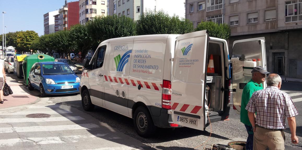 Inspección y Control de la red de alcantarillado de la Ciudad de Lugo