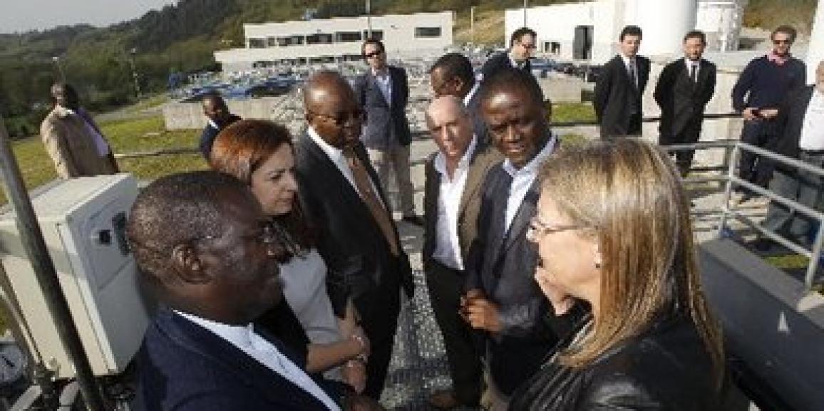 Visita del Ministro de Energía de Congo a la ETAP